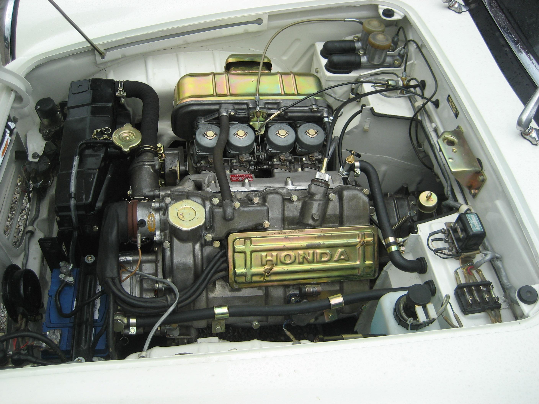 Build A Honda >> File:Honda S500 engine left.JPG - Wikimedia Commons