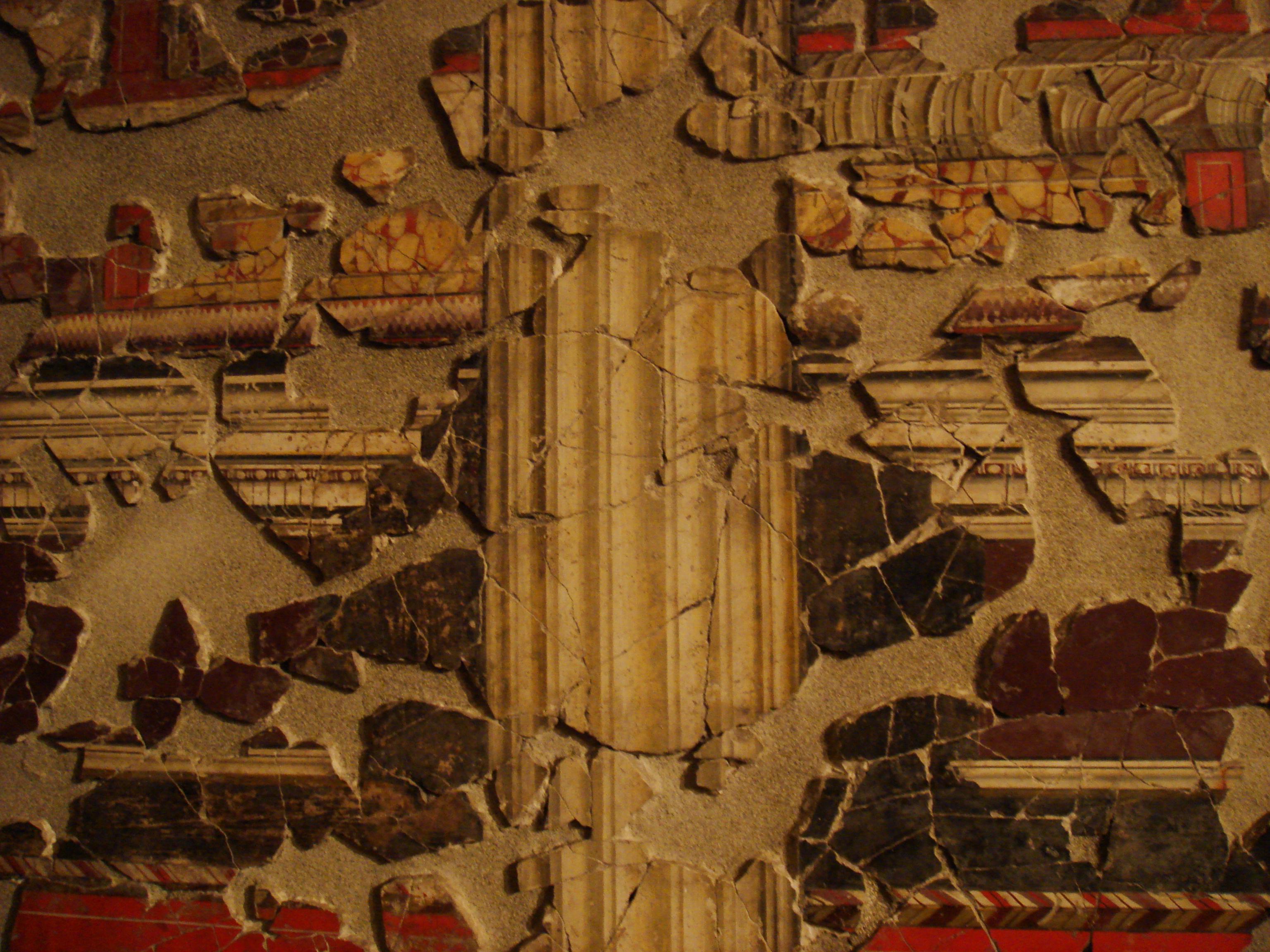 File intonaco romano santa giulia wikimedia for Domus arredamenti olevano romano