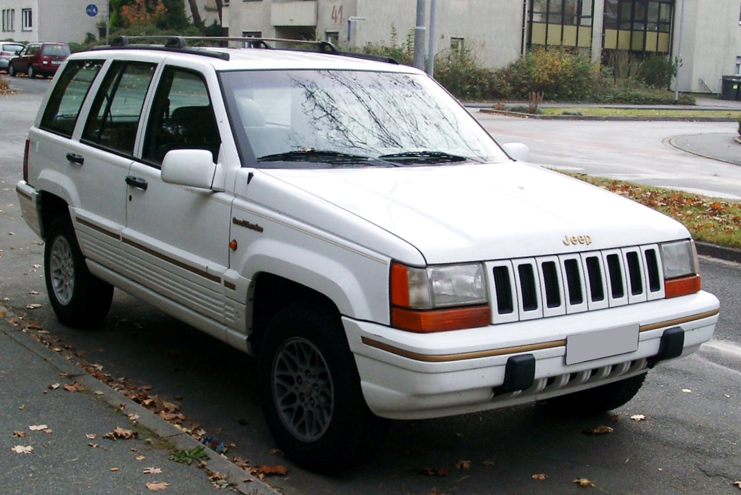 File Jeep Grand Cherokee Zj Front Jpg Wikimedia Commons