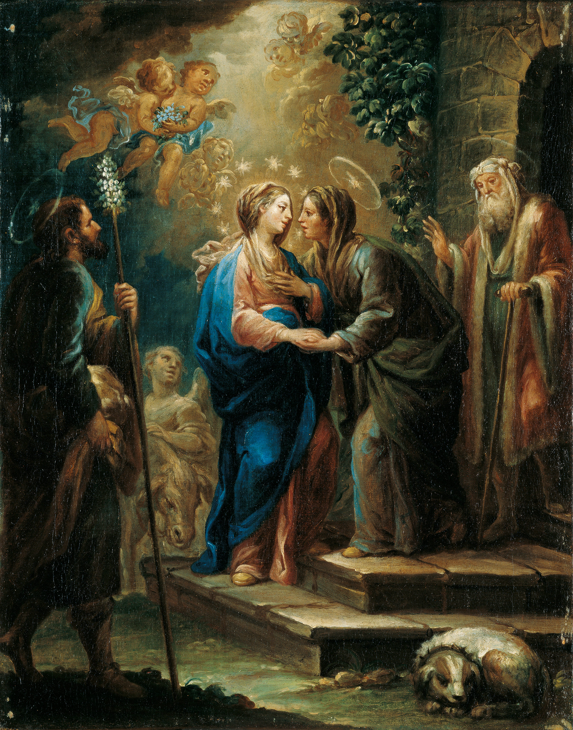 What Titles of the blessed virgin mary were