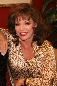 Actor Joan Collins