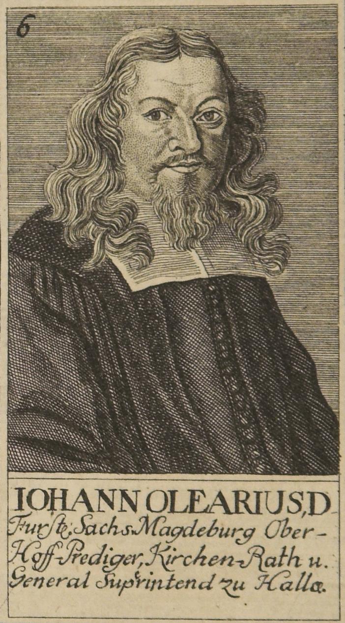 Bildresultat för Johann Olearius pictures