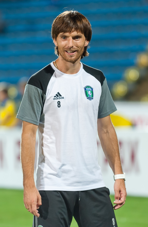Moldovan midfielder Sergey Kovalchuk