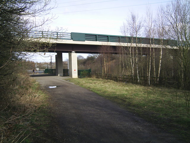 Lanchester Valley Walk - geograph.org.uk - 787896