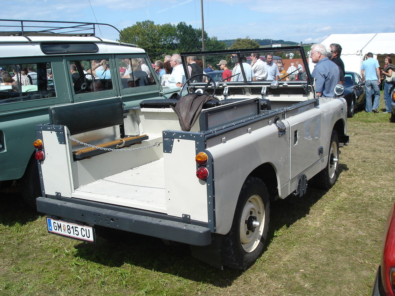 File Land Rover Series 1 Cabrio Heck Jpg Wikimedia Commons