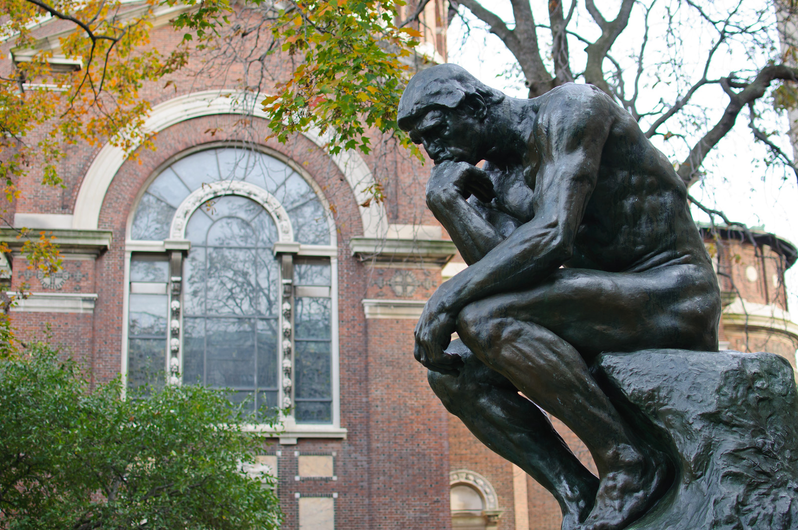 the thinker statue wiki