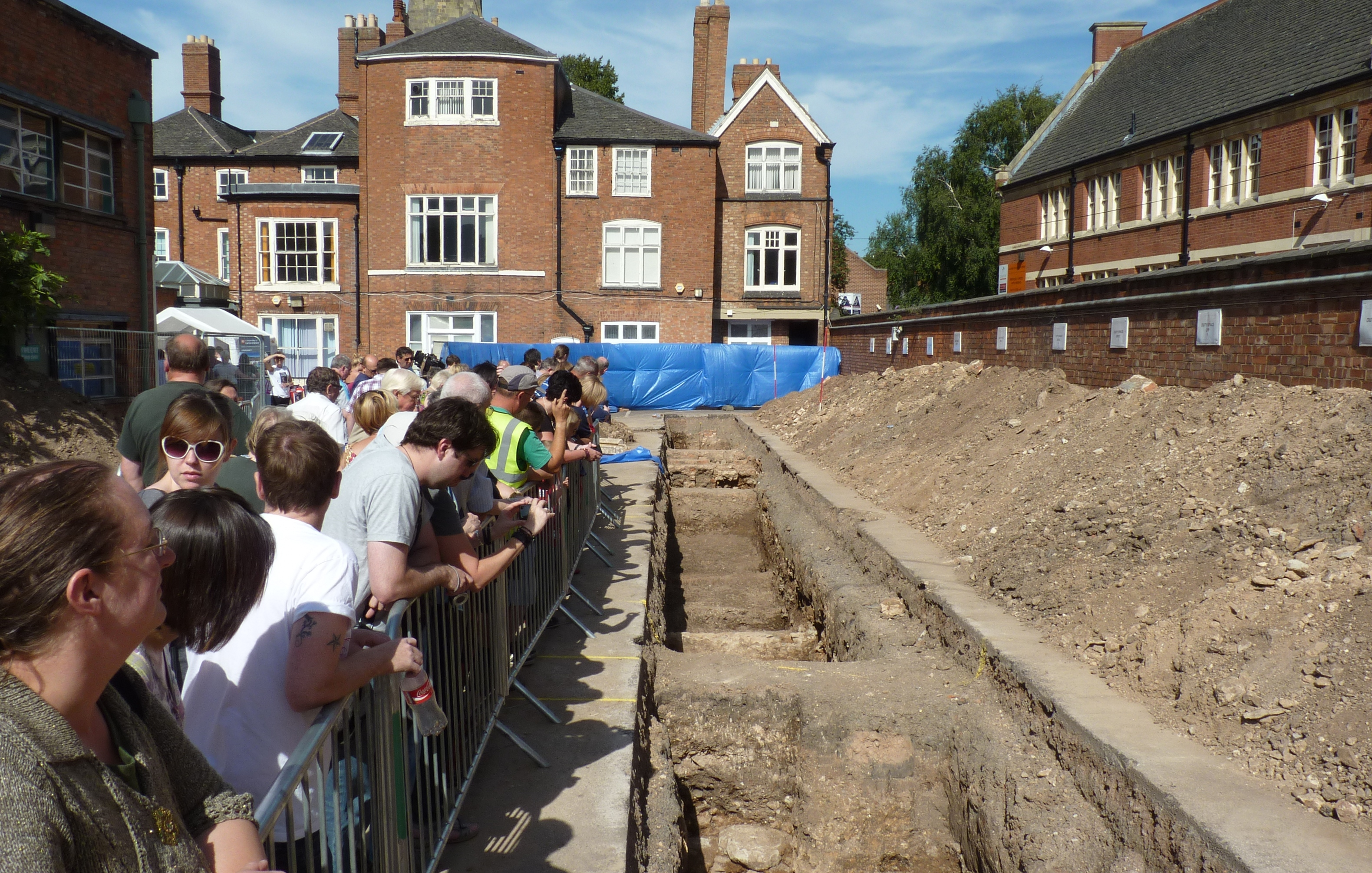 Leicester Greyfriars Dig C Trench