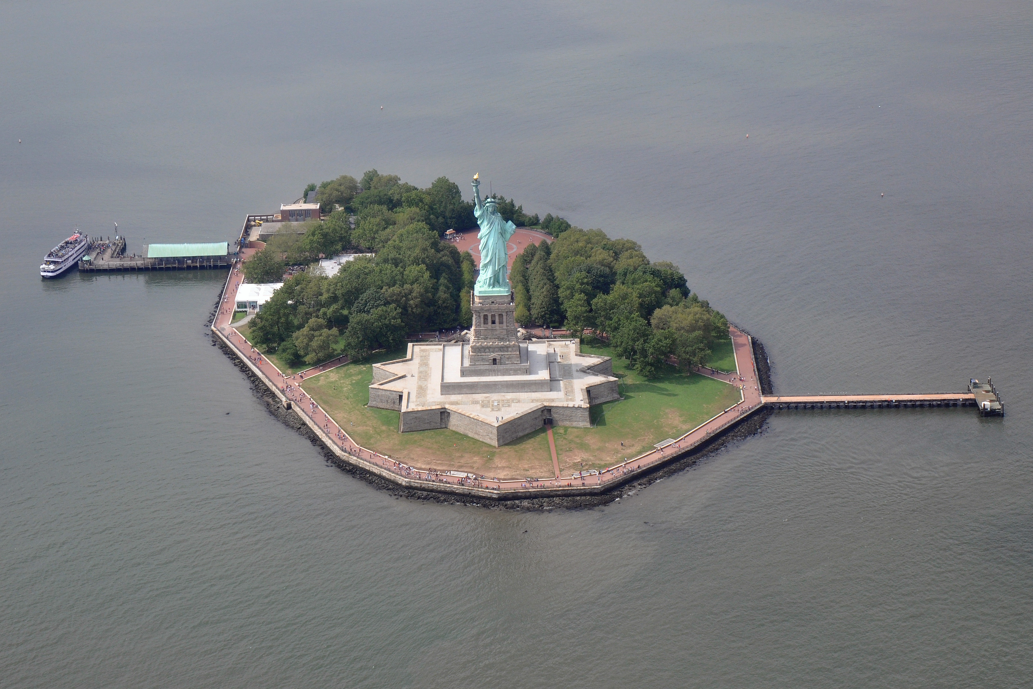 Liberty Island New York Ny