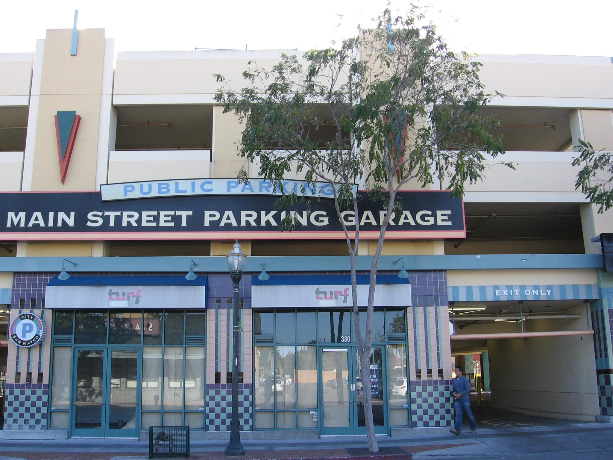 File Main Street Parking Garage Sm 3122 01 Jpg Wikimedia Commons
