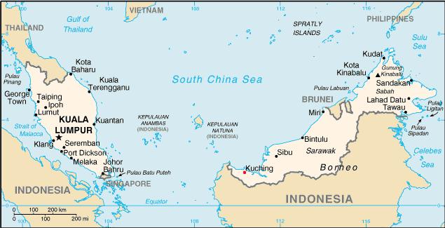 FileMap Kuching In Malaysiapng Wikimedia Commons - Kuching map