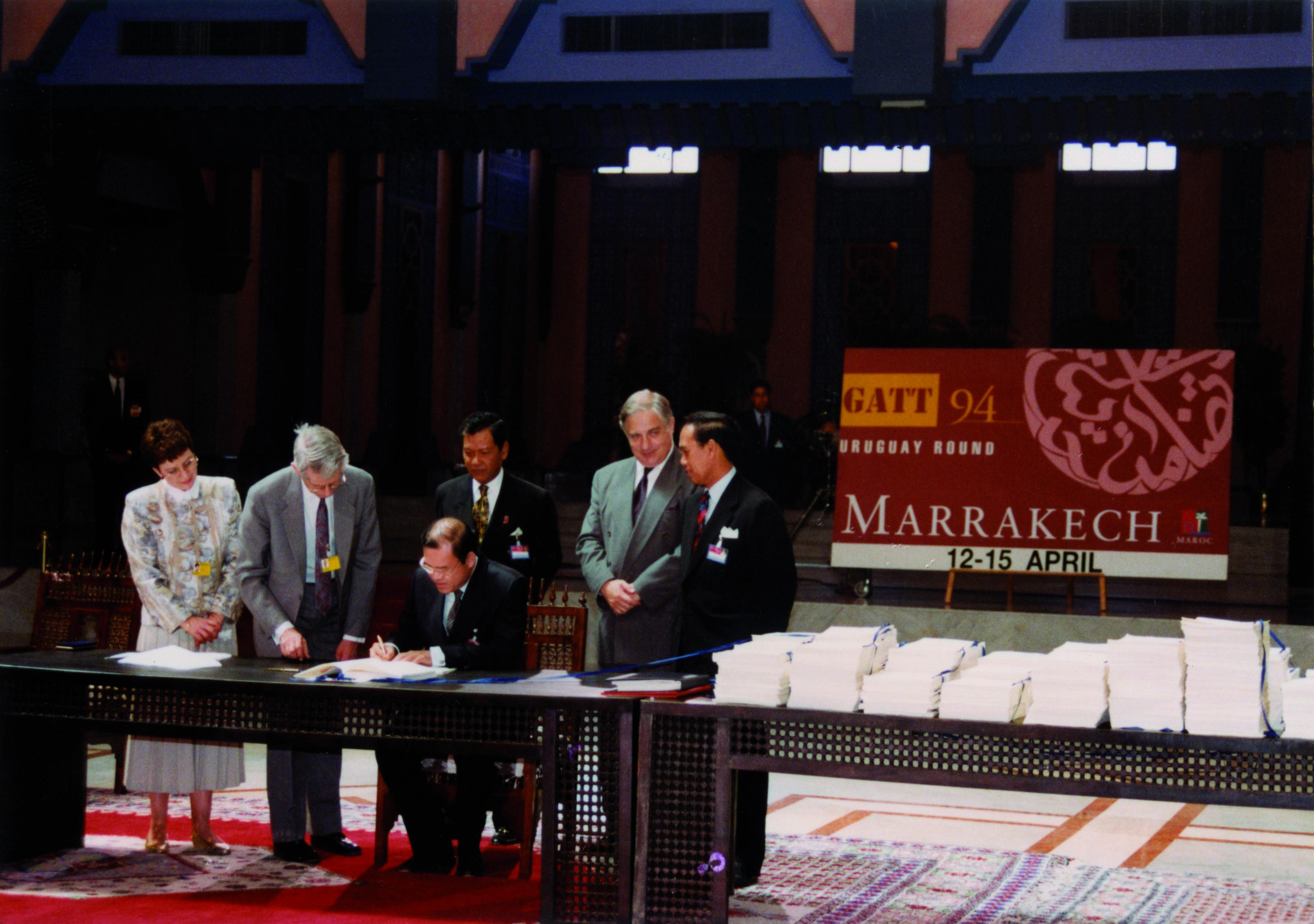 The Marrakesh Agreement