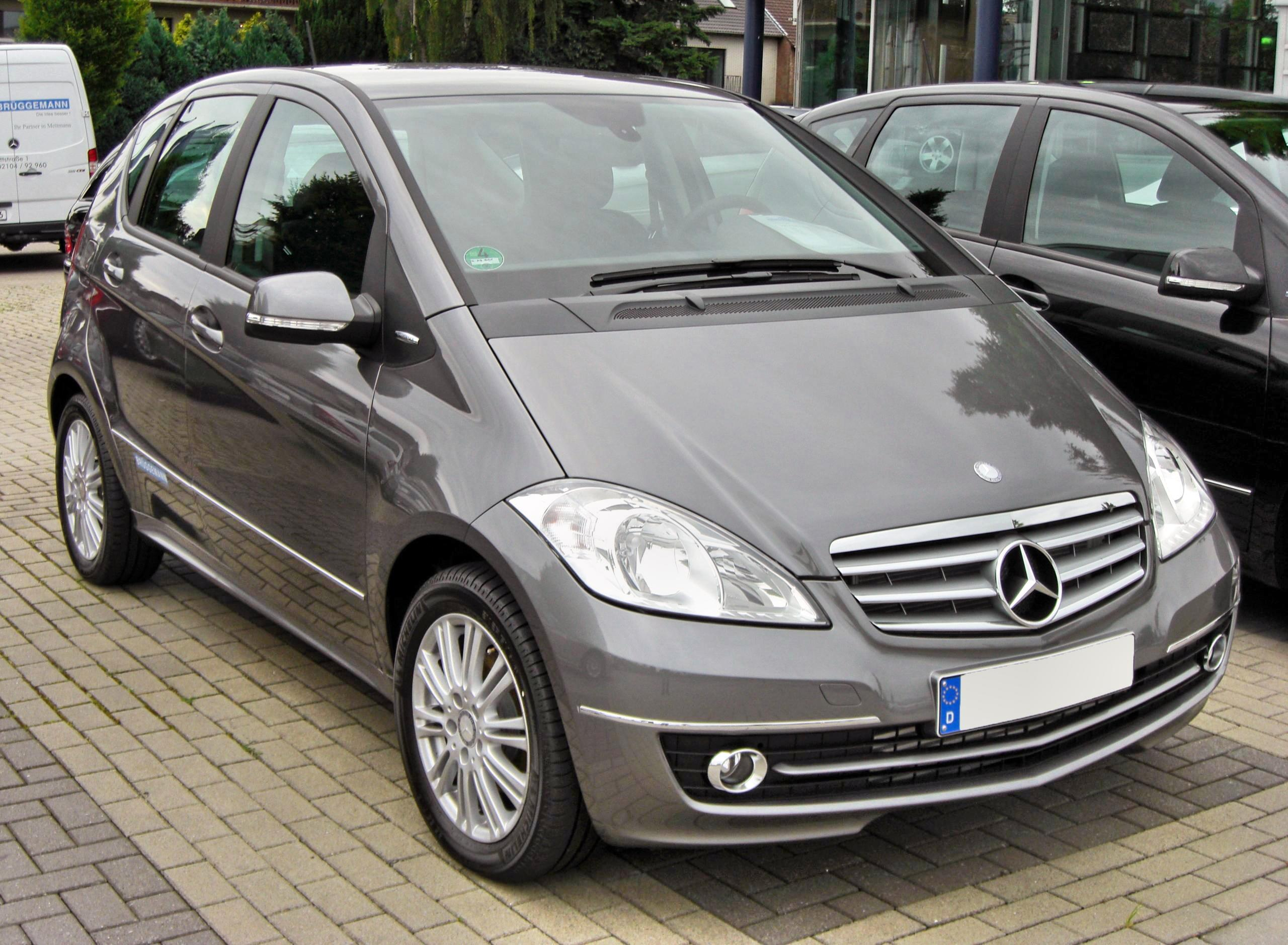 file mercedes a 160 cdi elegance w169 facelift 20090620 front jpg wikimedia commons. Black Bedroom Furniture Sets. Home Design Ideas