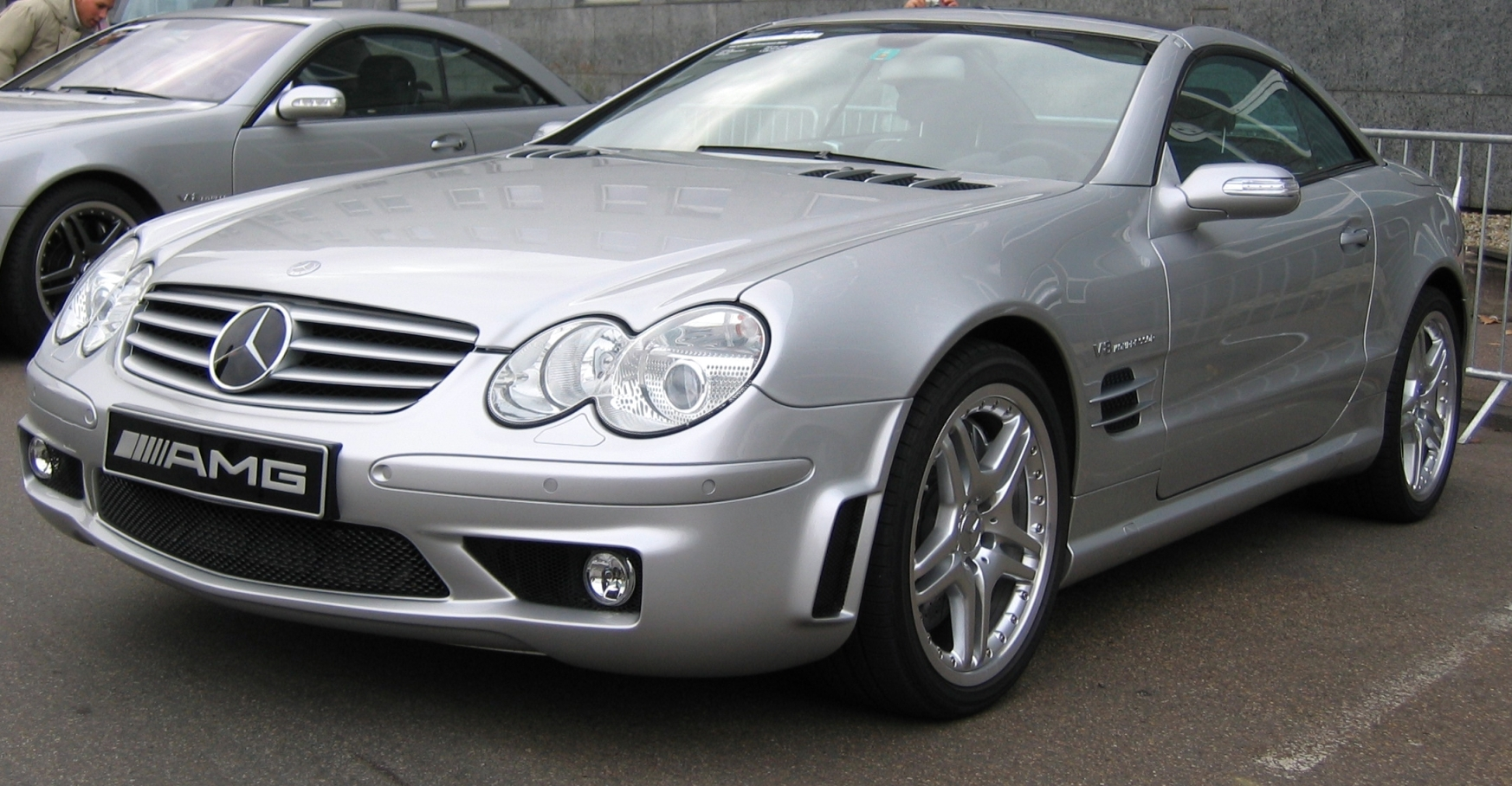 File Mercedes Sl55 R230 Jpg Wikimedia Commons