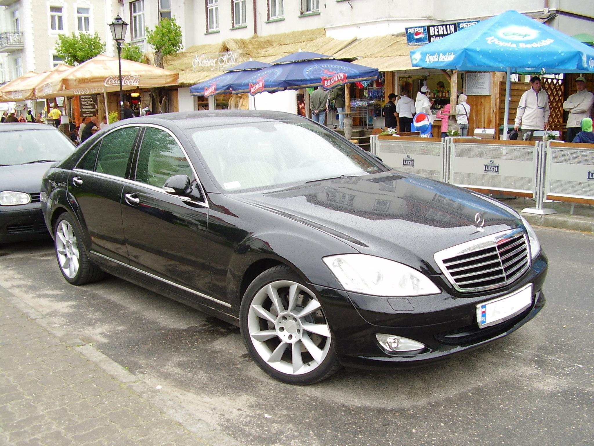 Mercedes Benz >> File:Mercedes W221 Międzyzdroje1.JPG - Wikimedia Commons
