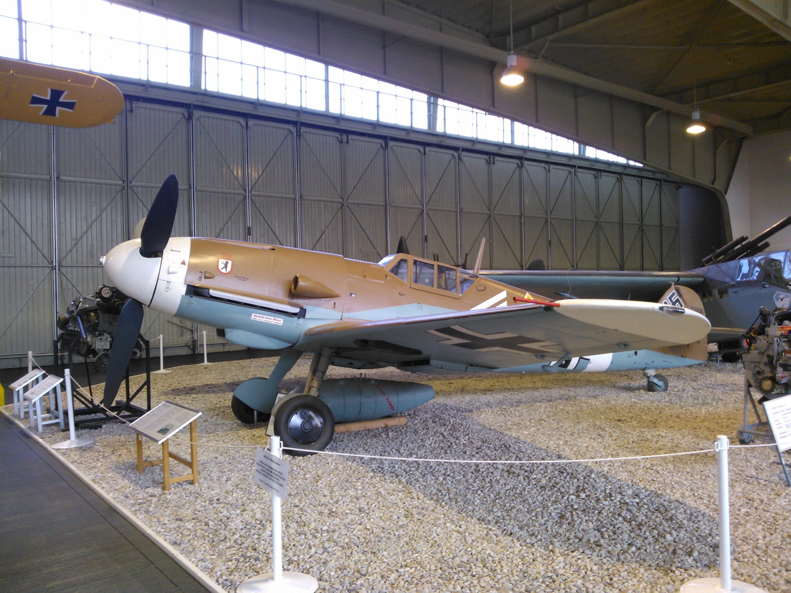 Messerschmitt Bf 109 G2 in Gatow.jpg