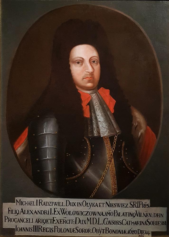 Михал Казимир Радзивил.  Міхал Казімер Радзівіл (1665-80) .jpg