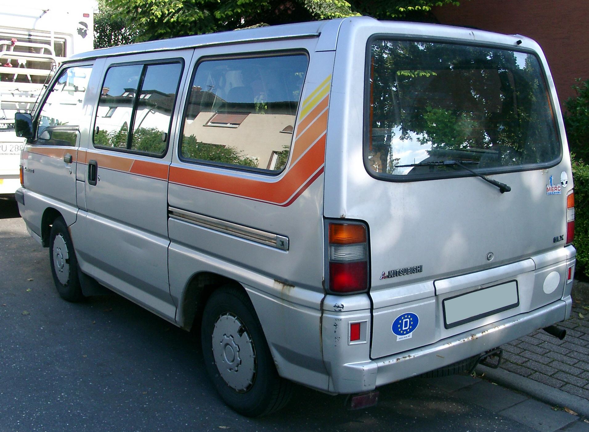 Fichier Mitsubishi L300 Rear 20070518 Jpg  U2014 Wikip U00e9dia