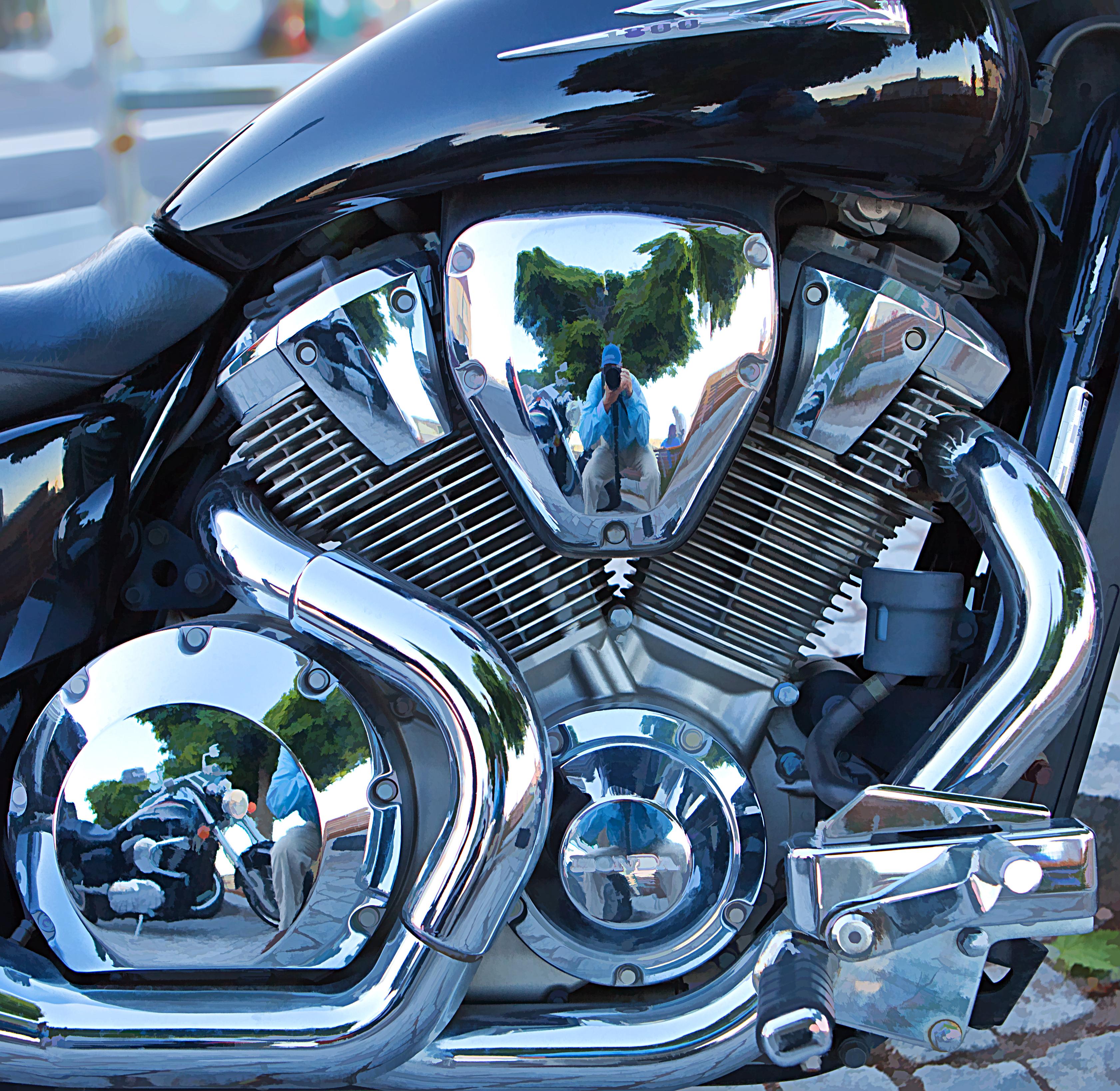 Honda Motorcycle With Fit Engine: Honda VTX Series