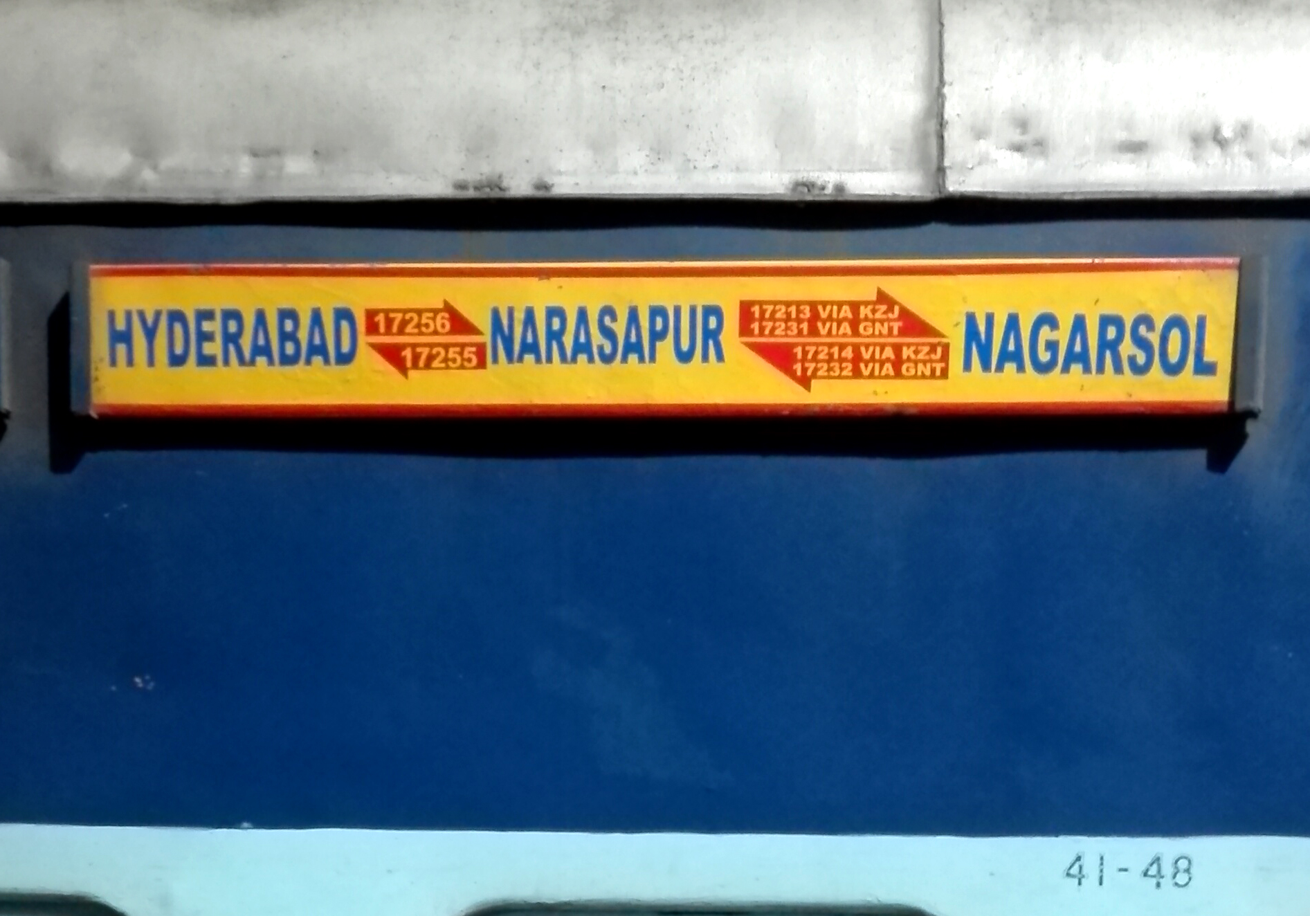 Narasapur Express - Wikipedia