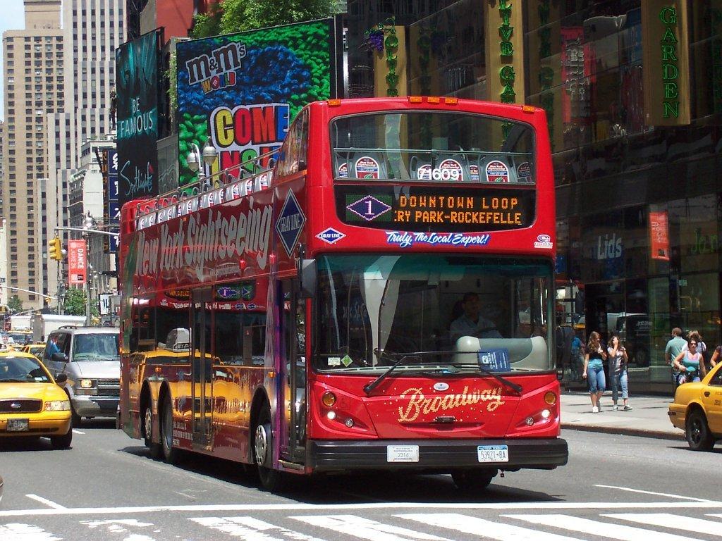 Big Bus Tour Stops New York
