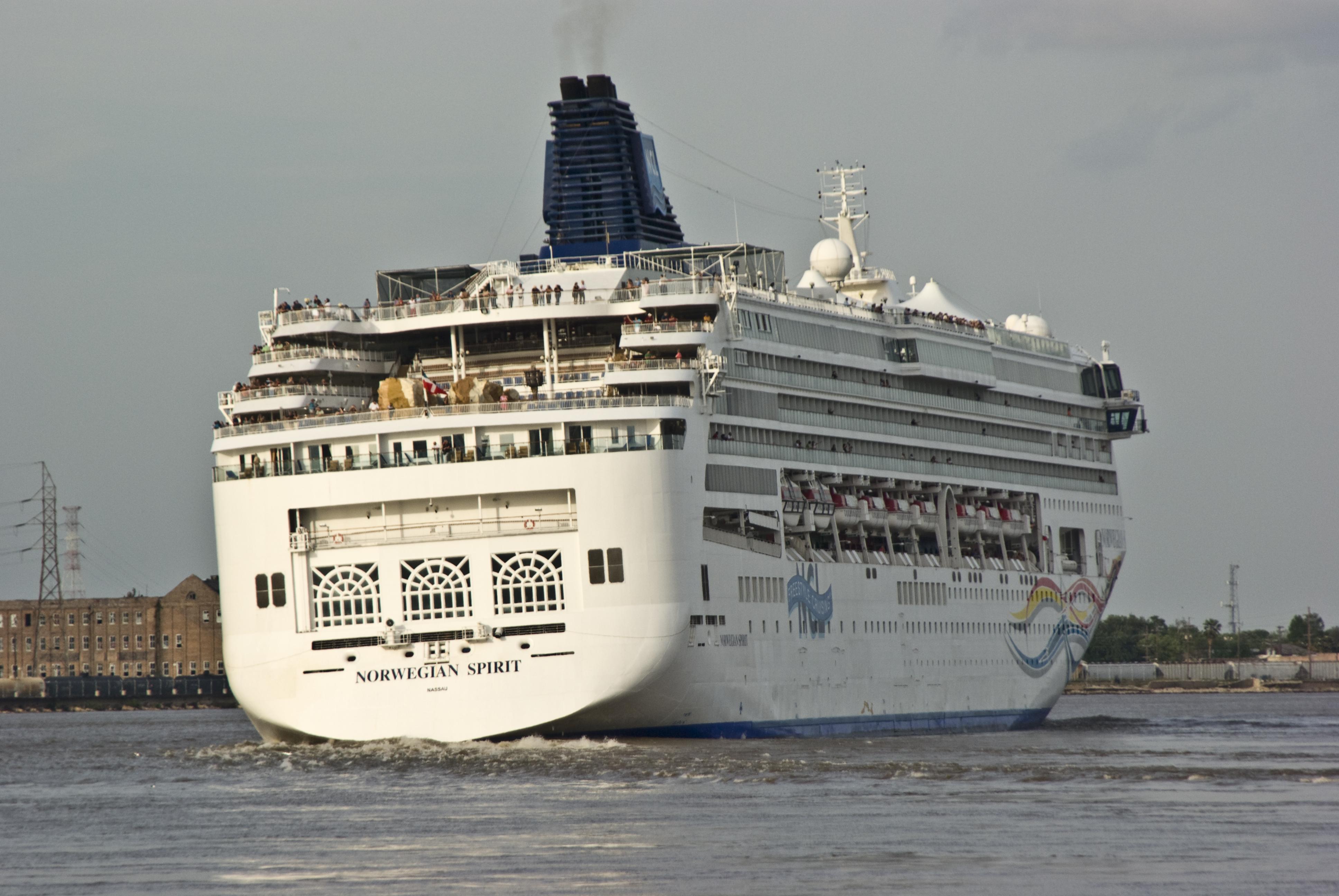 FileNorwegian Cruise Ship Leaving New Orleansjpg