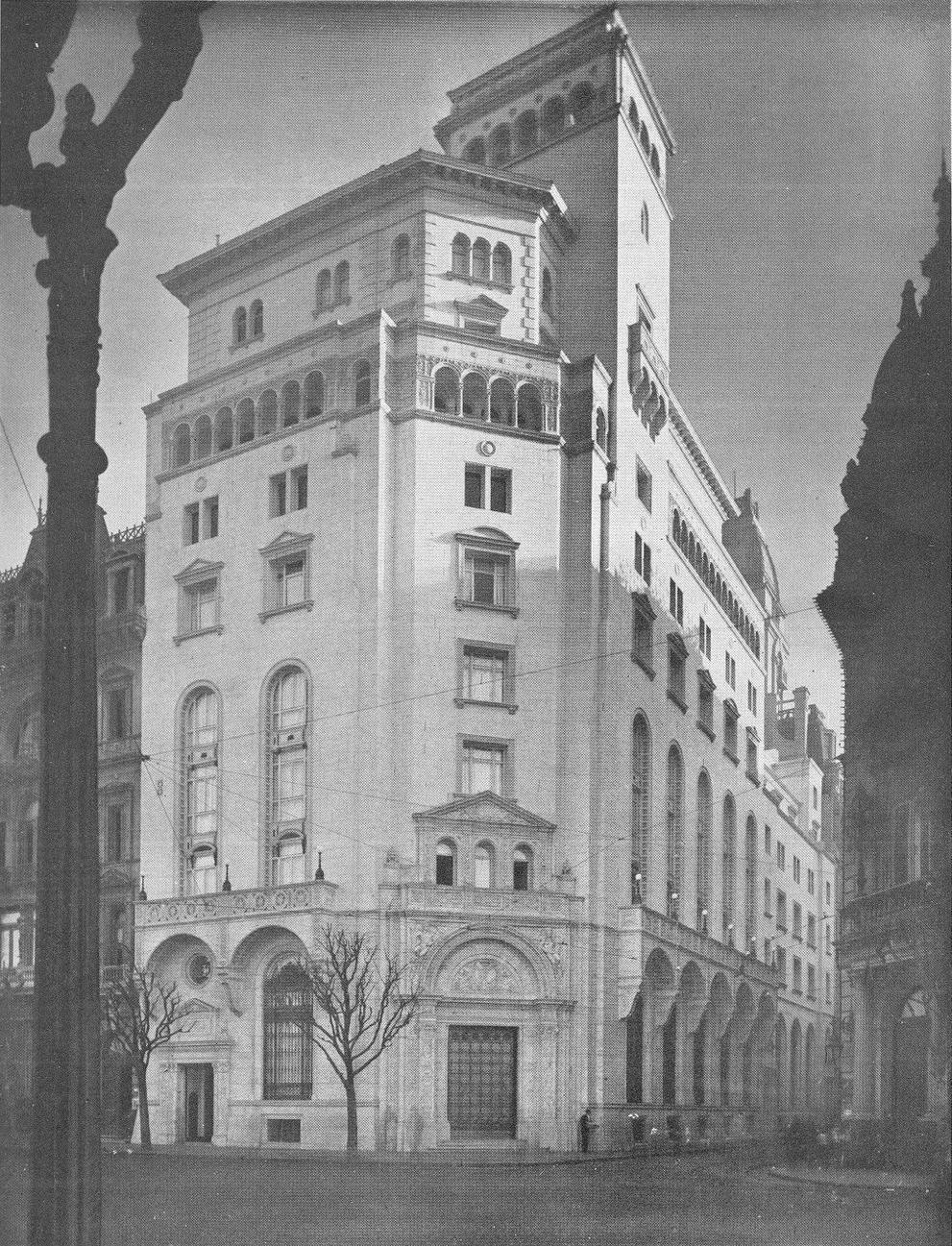 Nuevo banco italiano casa matriz wikipedia la for Casas del banco bbva