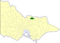 Shire of Tungamah Local government area in Victoria, Australia