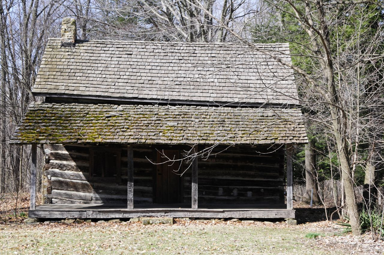 Marvelous photograph of File:Old log cabin similar to Sweeney cabin.jpg Wikimedia Commons with #505B7B color and 1280x850 pixels