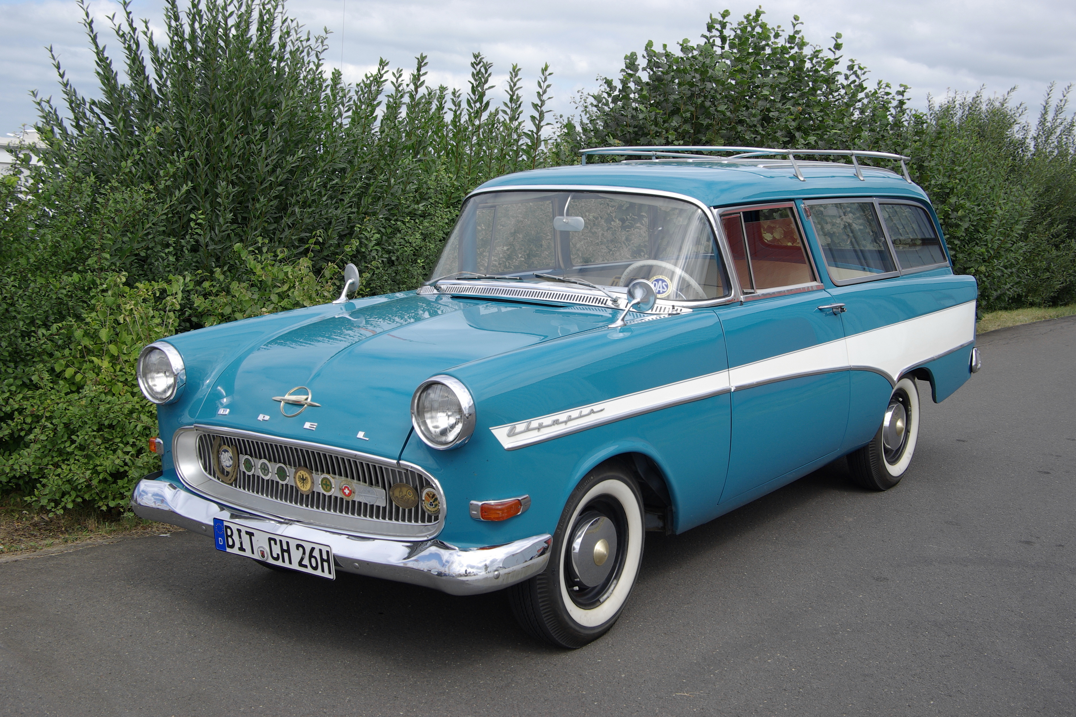 Opel Rekord P1 Wikipedia 1958 Wiring Diagram 1960 Olympia 1500 Caravan 1488 Cc 4 Cylinder 45 Hp Original Condition