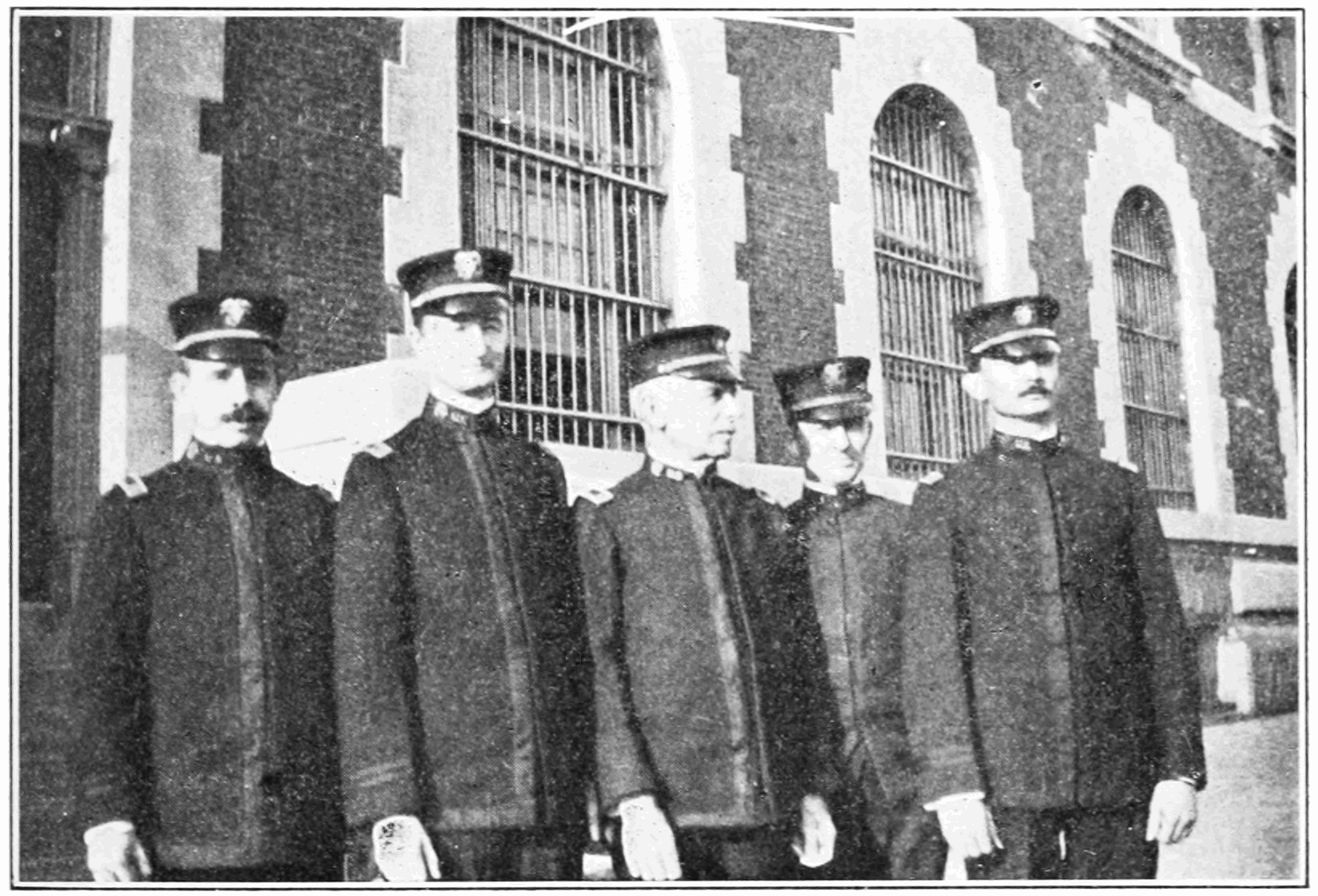 PSM V83 D321 Medical officers at ellis island.png