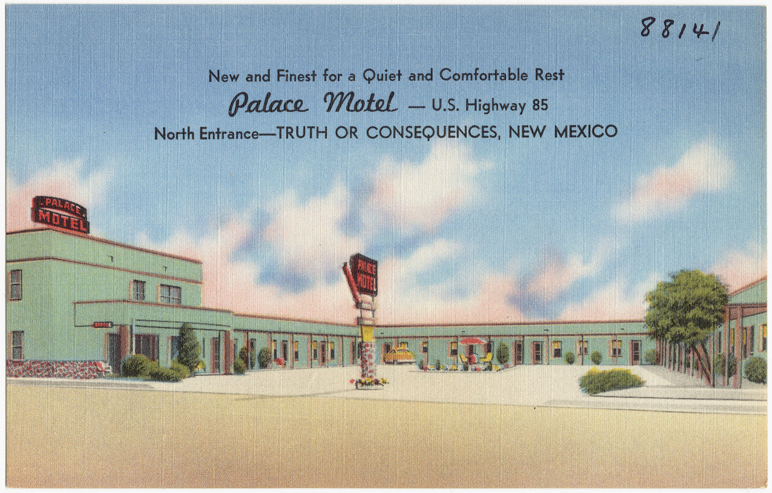 File Palace Motel U S Highway 85 North Entrance