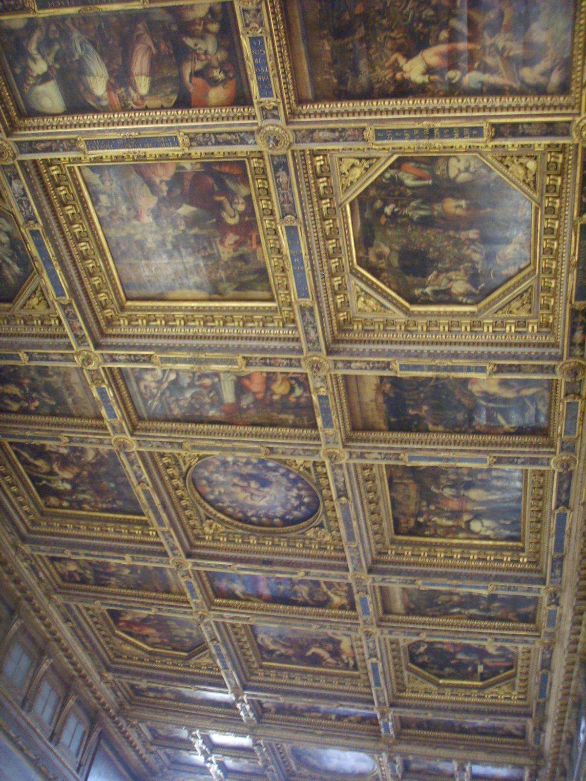 File:Palazzo vecchio, salone dei 500 soffitto.JPG