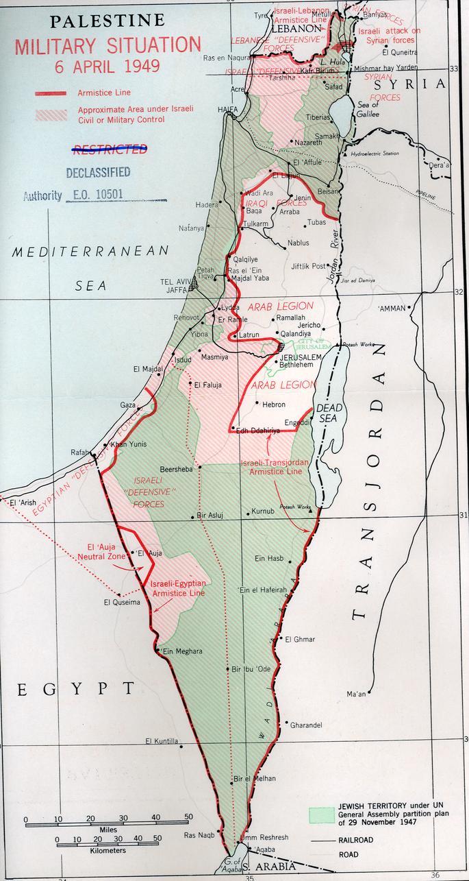 Armisticio Egipto-Israel