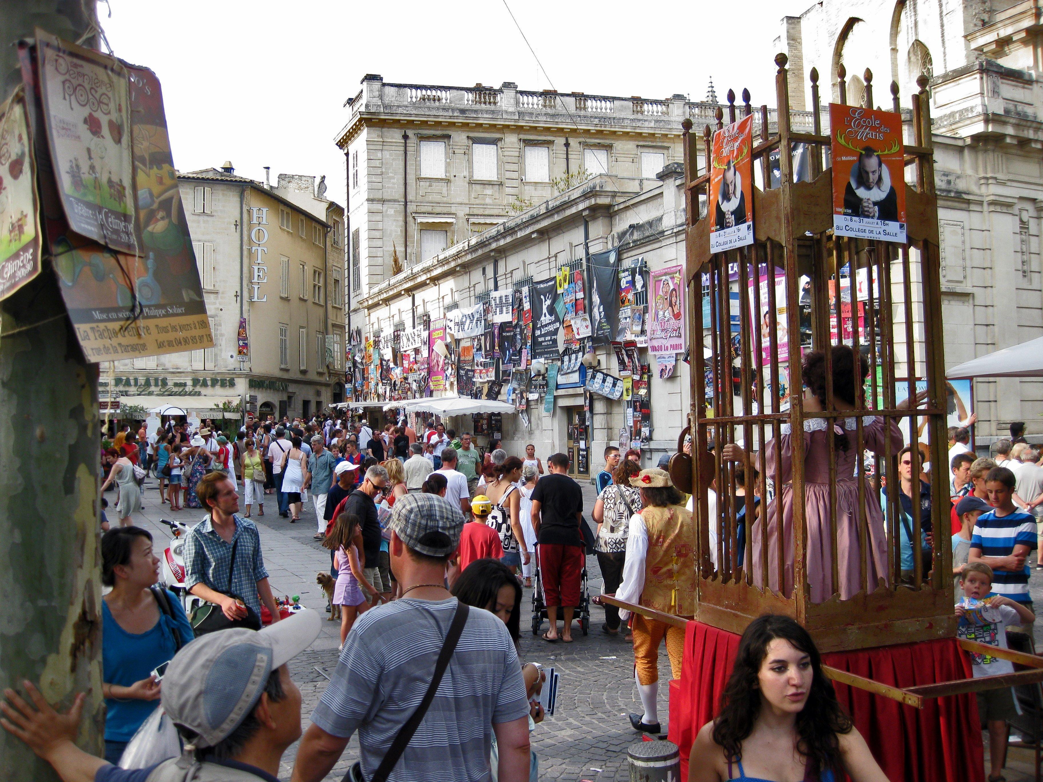 festival avignon juillet