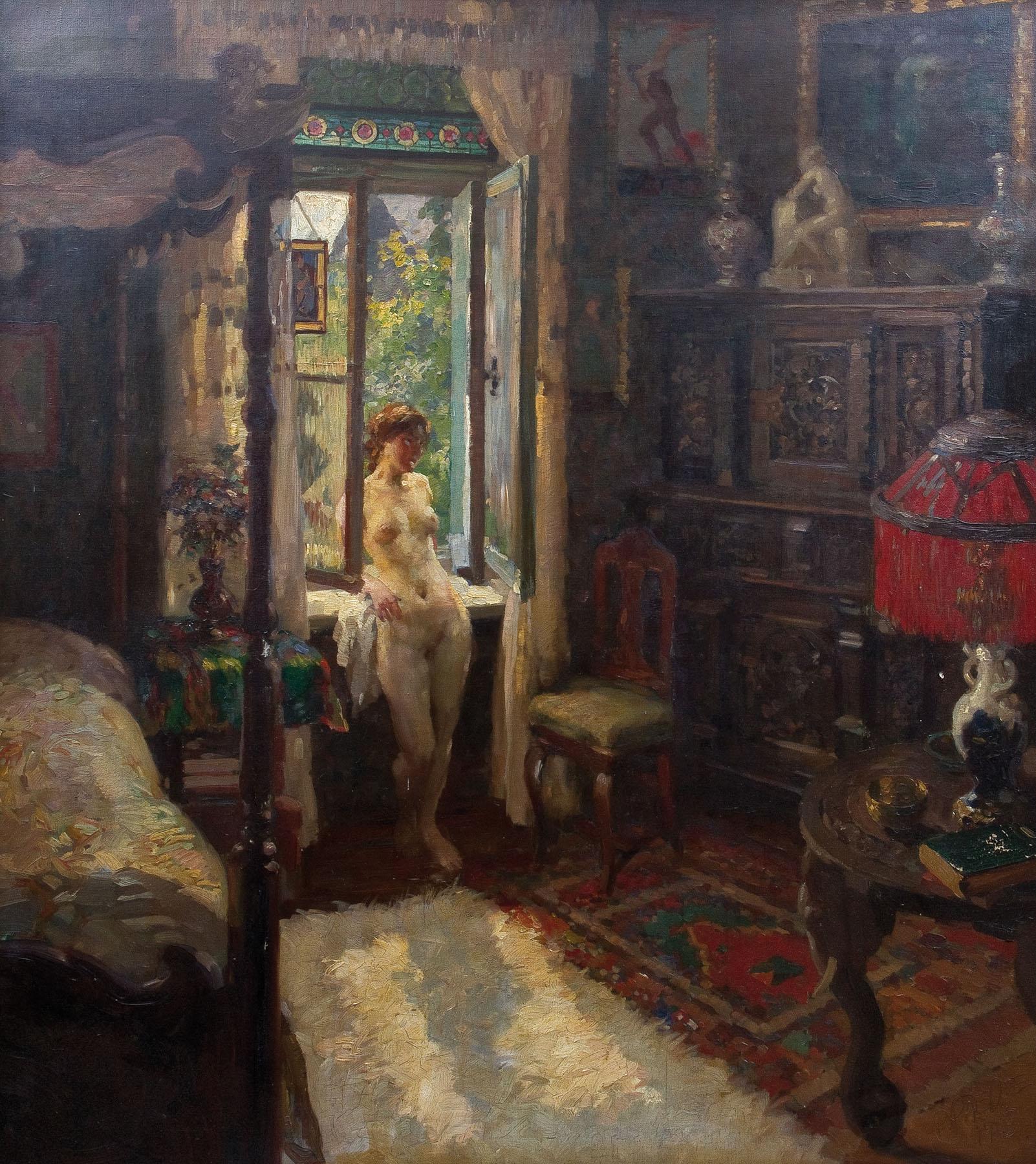 Fenster Paul file paul paede mädchenakt am fenster 1913 jpg wikimedia commons
