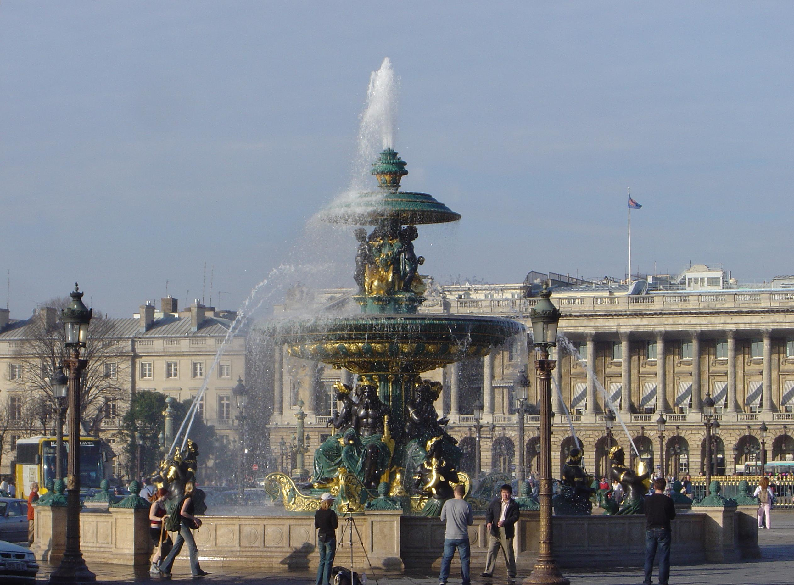 la place de la concorde monuments de paris 2011. Black Bedroom Furniture Sets. Home Design Ideas