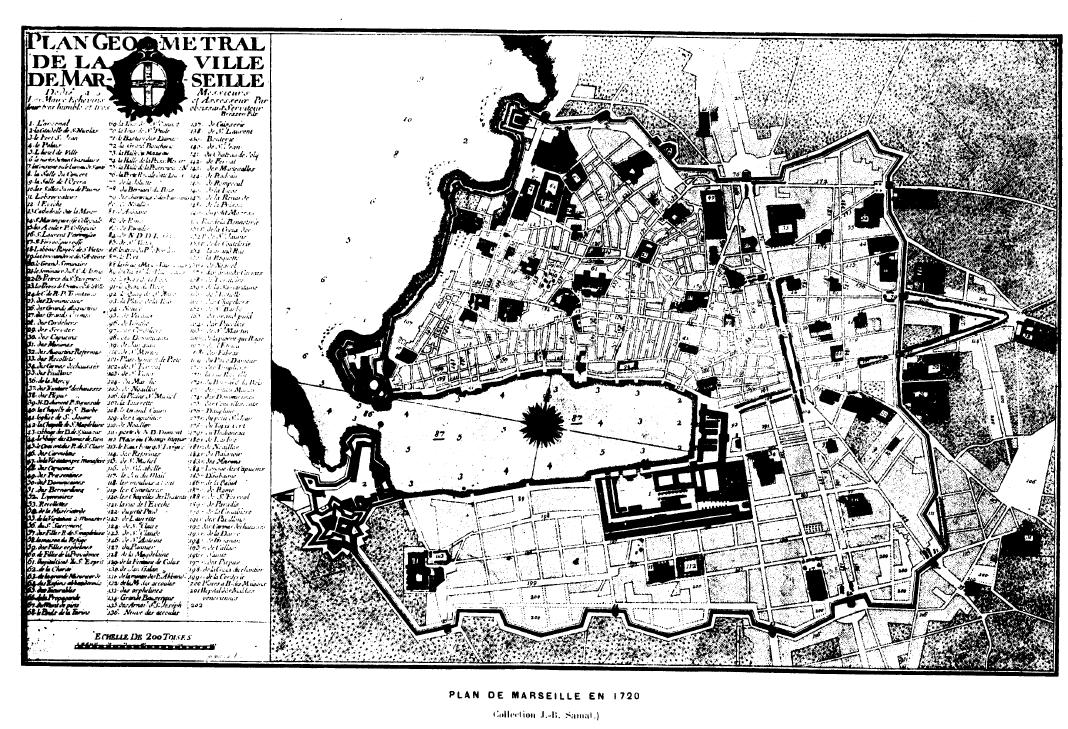 File plan de marseille 1720 png wikimedia commons - Castorama marseille plan de campagne ...