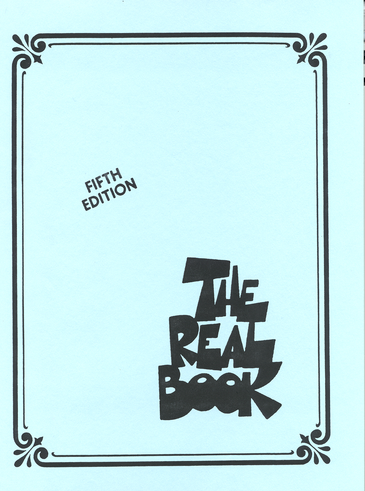 Real Book 5th Edition (Blues - Jazz)