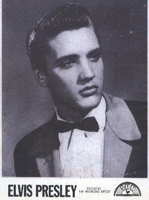 Elvis Presley - Classic Pompadour Hair Style