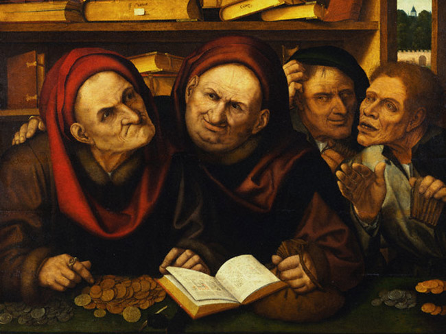 Quentin Metsys, The Moneylenders