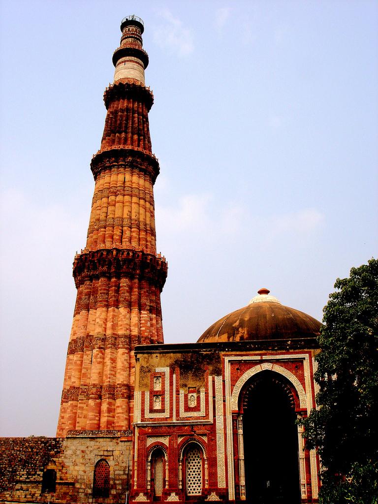 Qutub Minar Mehrauli - Wikipedia