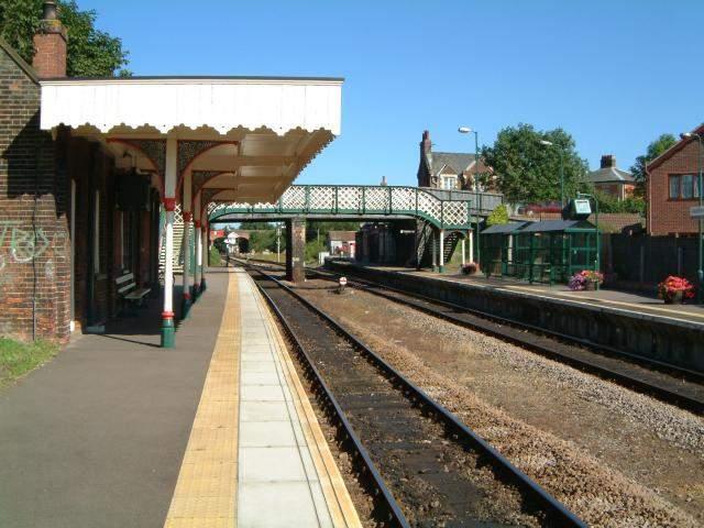 reedham railway station  norfolk