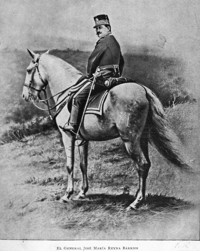 Primera fotografía instantánea tomada en Guatemala.  Foto de Alberto G. Valdeavellano, 1896