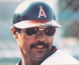 Jackson in 1983 as a member of the California Angels.