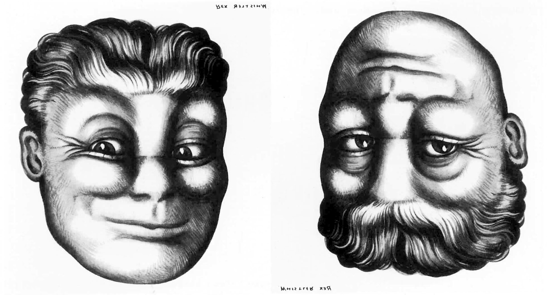 13 optical illusions that will blow your mind | MNN ... |Reversible Pictures Illusions