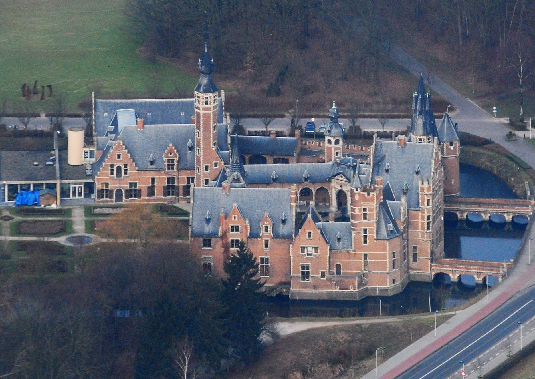 Antwerp Belgium  city photo : Description Rivierenhof castle, Deurne Antwerp, Belgium