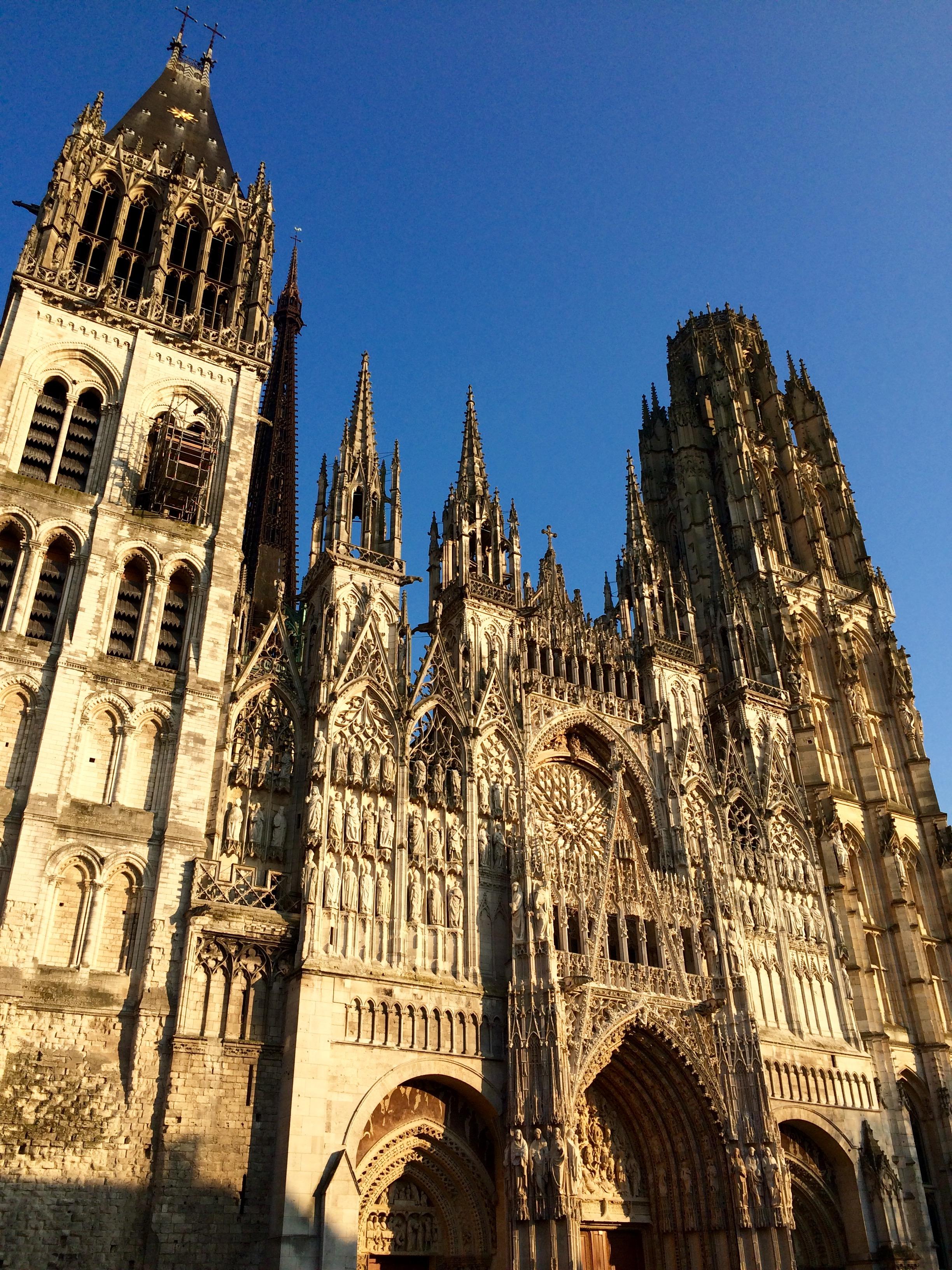 Руанский собор описание архитектуры