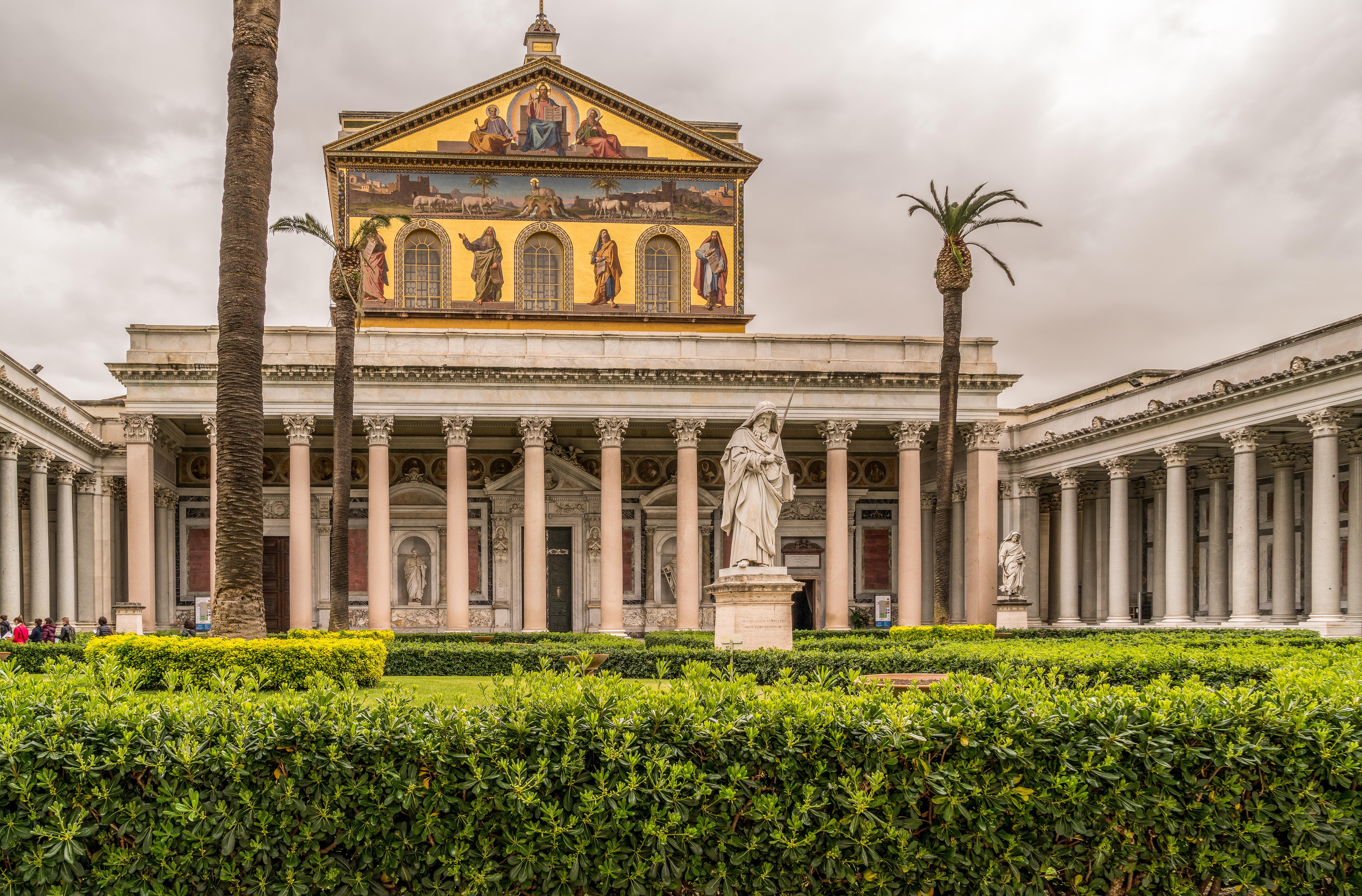 File San Paolo Fuori Le Mura 1 Jpg Wikimedia Commons
