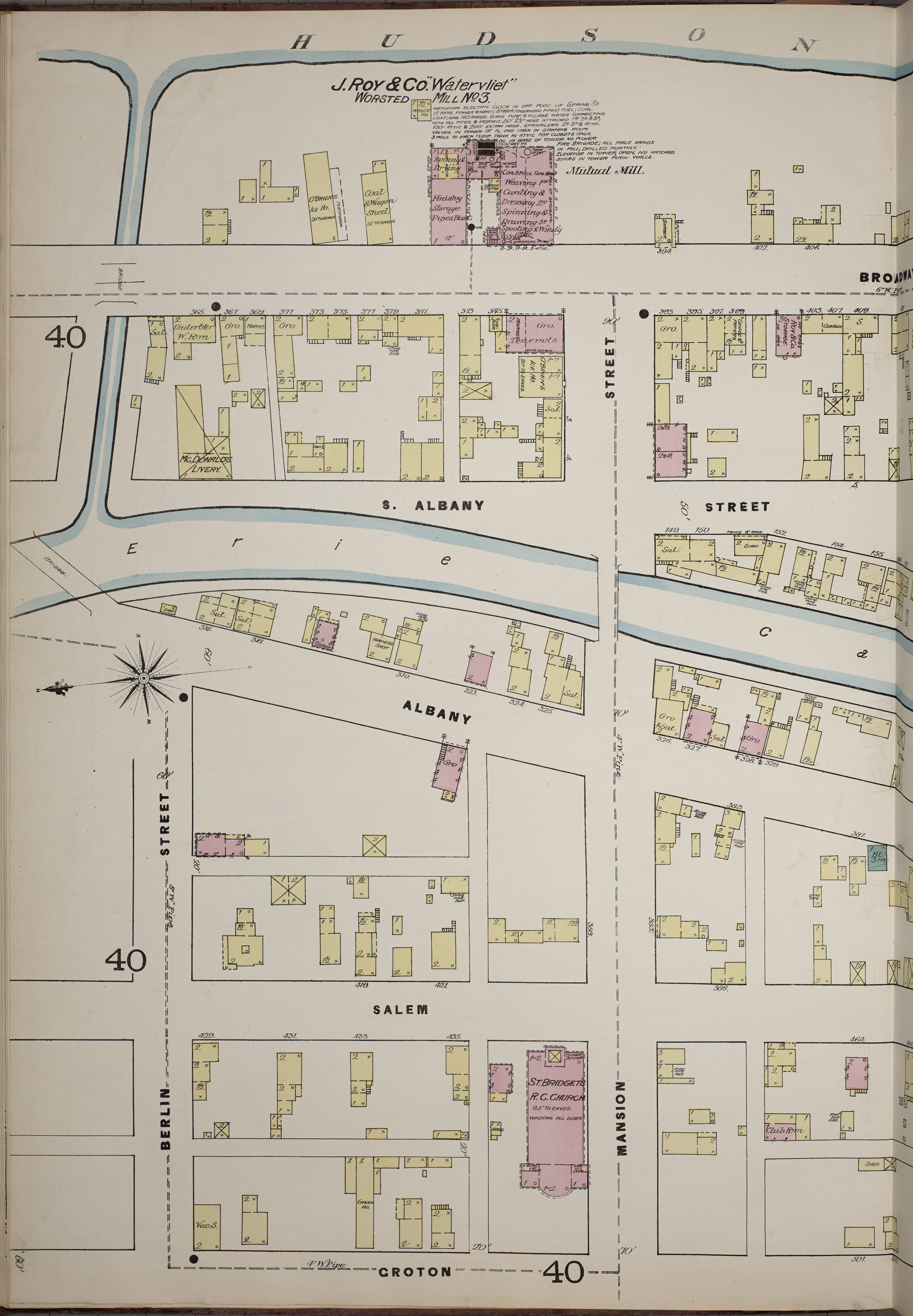 File:Sanborn Fire Insurance Map from Troy, Rensselaer County