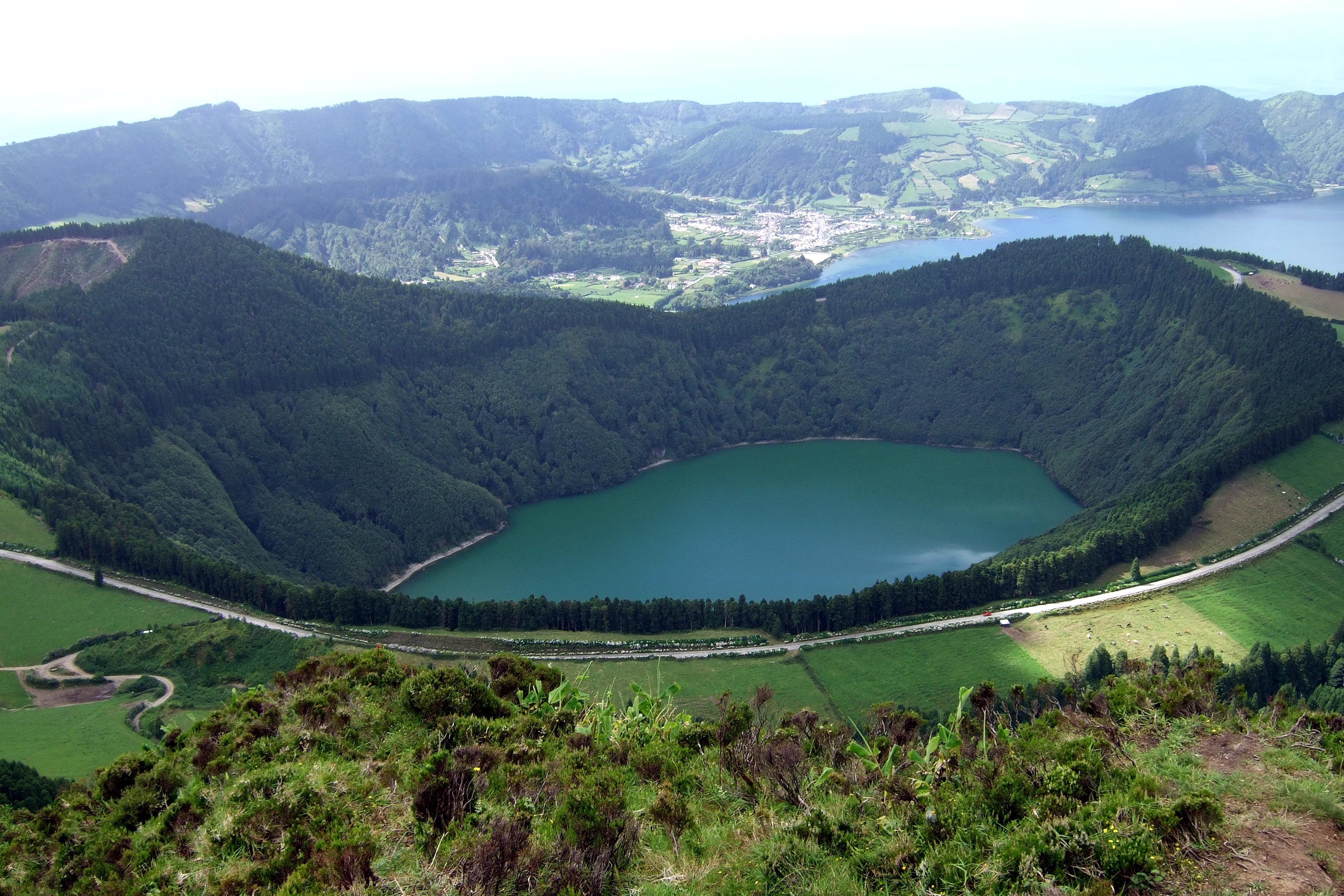 File Sao Miguel Island Azores Sete Cidades Caldera